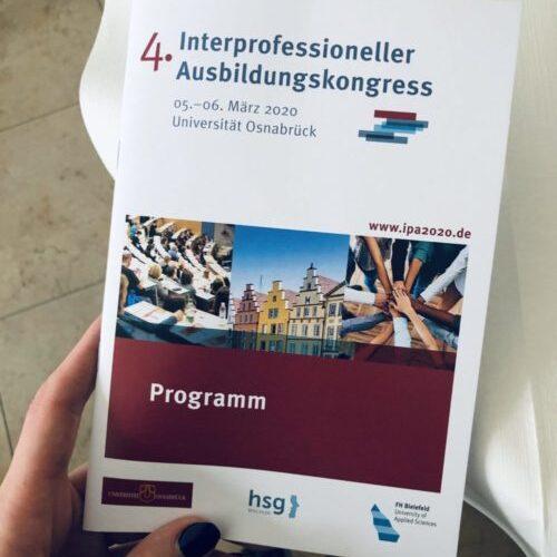 IPA 2020 – 5. und 6. März 2020 – Universität Osnabrück